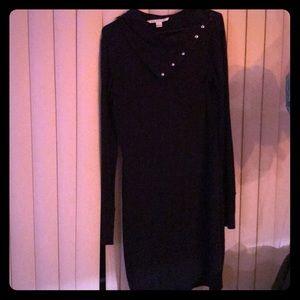 DVF black long sleeve dress!
